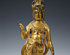 Gilt-bronze Seated Buddha